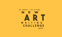 Announcing The 2016 New Art Writing Challenge - a FREE region wide contest to find the best new approaches in art writing.